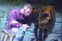 """""""...fratello bisonte , donami la saggezza della pazienza e tu, amore mio, confidami l'urgenza del viverti..."""""""