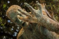 Particolari scultura Arechi